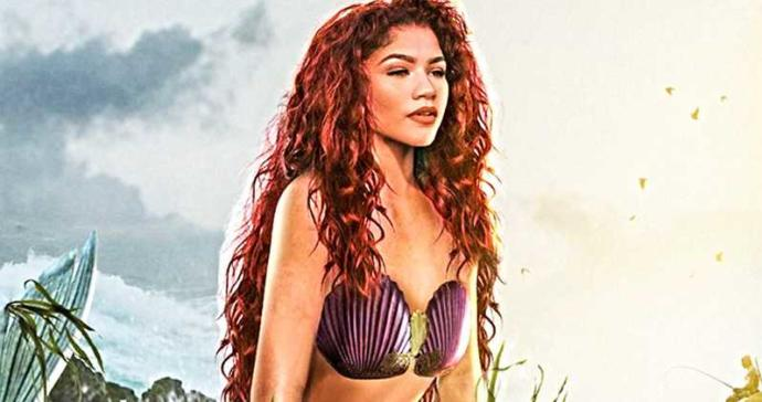 Zendaya Fanart As Ariel <3
