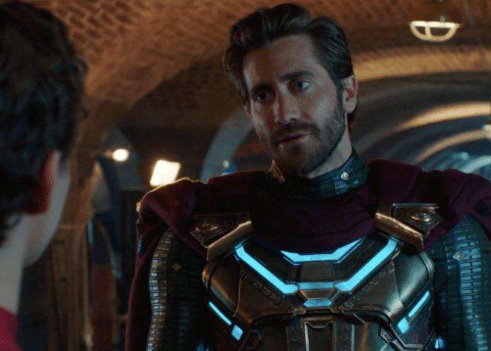 Mysterio played by Jake Gyllenhaal