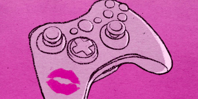 The hot and skimpy clothed girls seen making duck faces and kissing their controllers aren't real gamer girls, anyhow