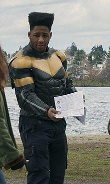 "Phoenix Jones, mma fighter turned ""superhero"""