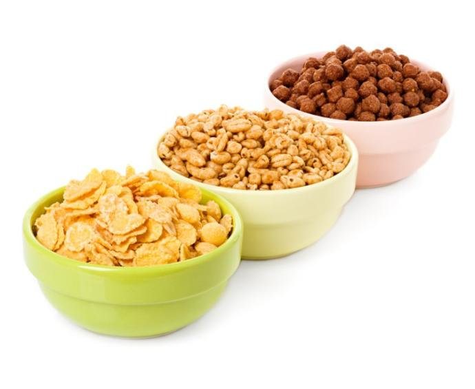 Cereal- see far right and compare to above