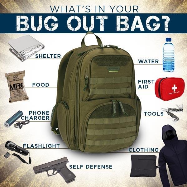 Bug Out Bag.