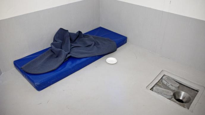 Solidarity confinement cell in Norway