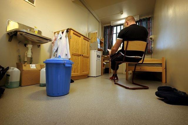 Some inmates use a bucket because of there's no toilets