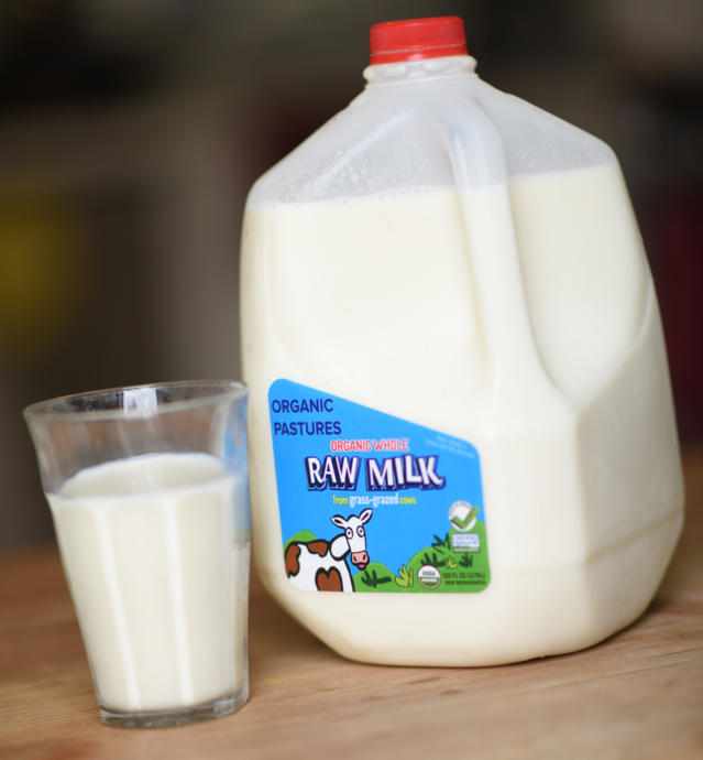 Raw Milk is good for body