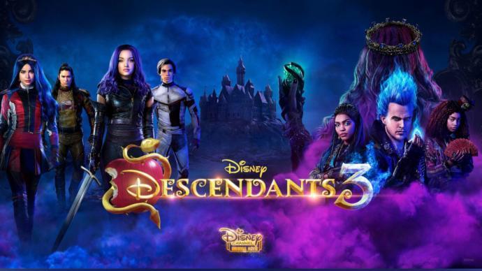 Descendants 3 Movie Poster <3