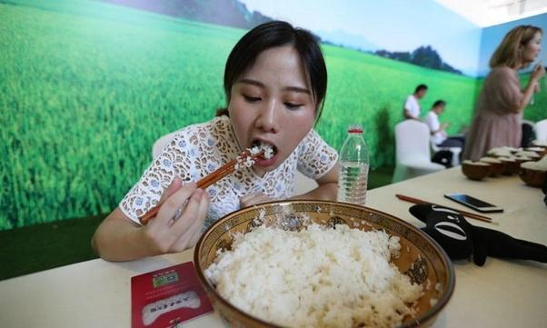 Do Asians really eat this amount of rice at every meal?
