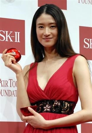 Koyuki, 42, the actress who starred alongside Tom Cruise in The Last Samurai