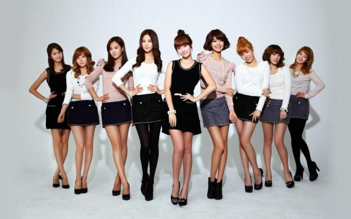 Legendary K-pop group SNSD