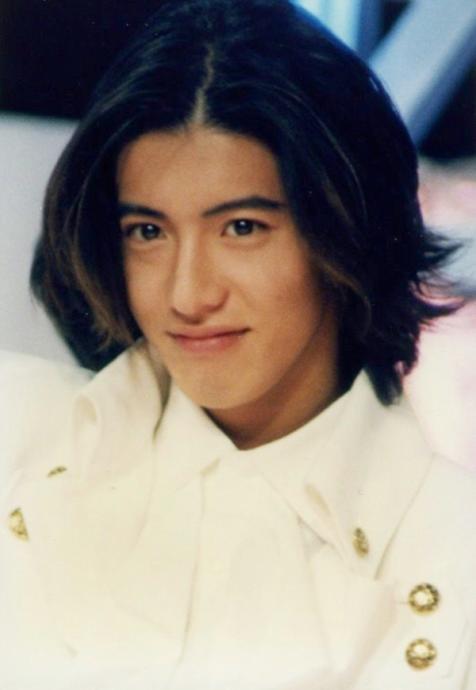 Kimura Takuya when he was young