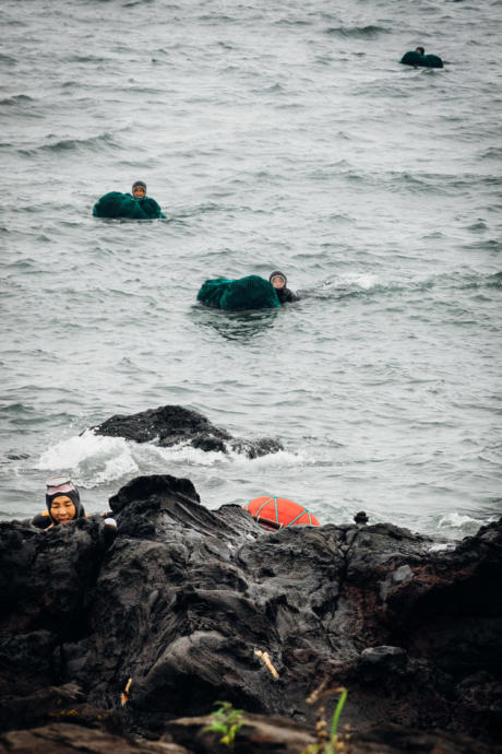 Like the female ama divers in Japan, Jeju Island has its own tradition of female divers, who are known as the Haenyo.