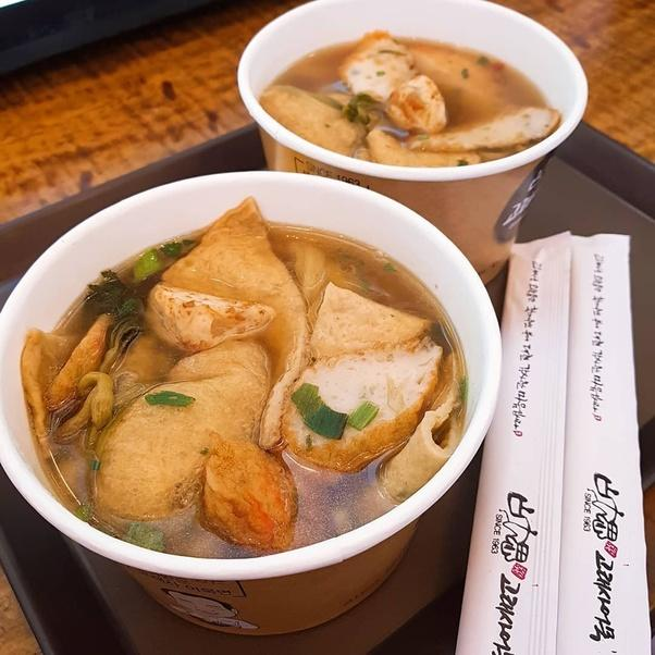 Noodles made from Fishcake.