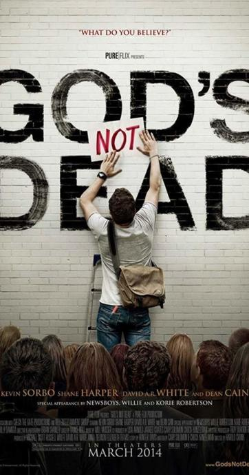 """""""God's not dead"""" directed by Harold Kronk, a critically acclaimed Christian film"""