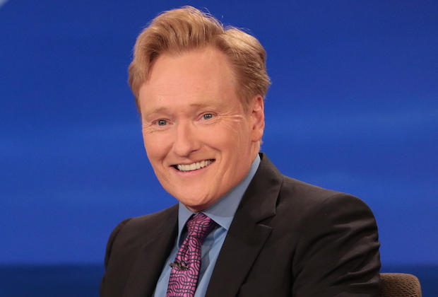Conan has hosted his popular talk show since 1993.