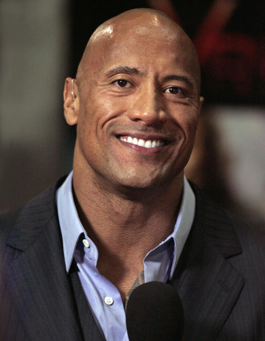 Dwayne is a famous wrestler and an actor.