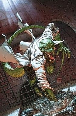 Lizard Man/Curtis Connors