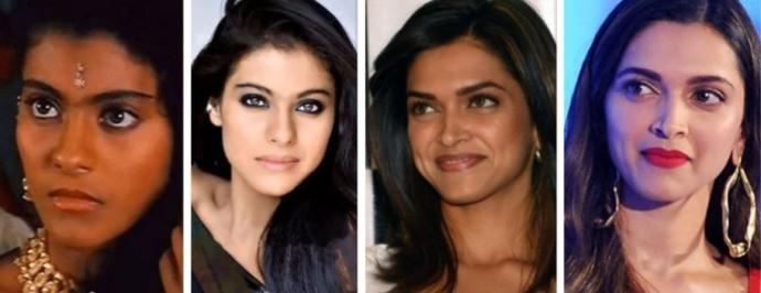 Kajol and Deepika who is also a Hollywood actress now