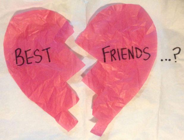 Friend break ups are the worst