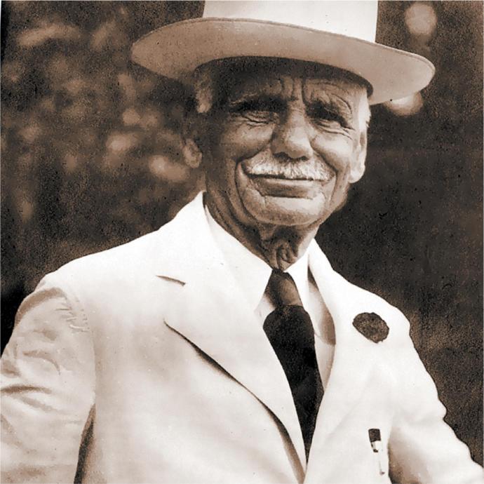 William Reilly, founder of Luzianne Tea.