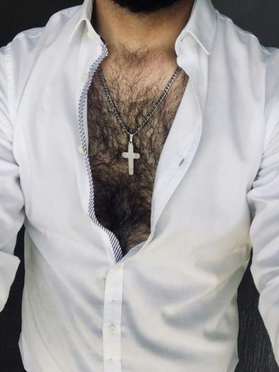 Is chest hair a past thing of history now?