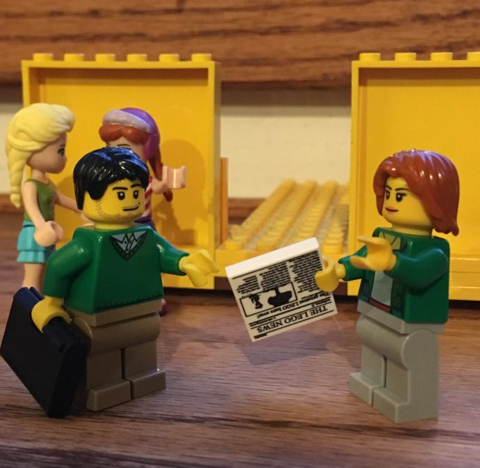 All people should be equal like legos are all made of blocks