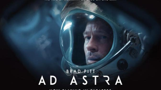 AD ASTRA! Well, it wasn't as good as I thought it would be.