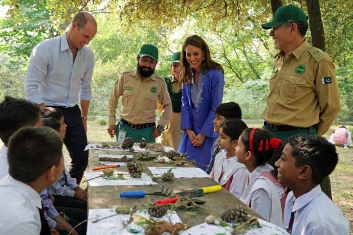 Royal Visit to Pakistan