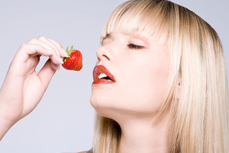 Strawberries really are not an aphrodisiac. Now, where did that chocolate go to?