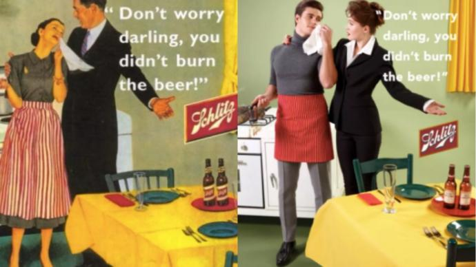 Sexism then, sexism now. Two wrongs don't make a right.