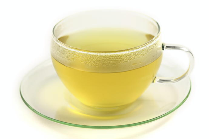 Green tea- unoxidized, simple, grassy, and mild flavored.