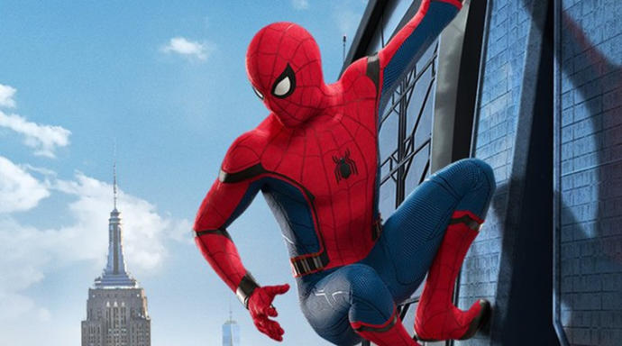 Spidey looking at his city! :P