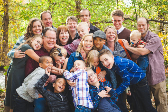 Extended families: A thing of the past, or more common again?
