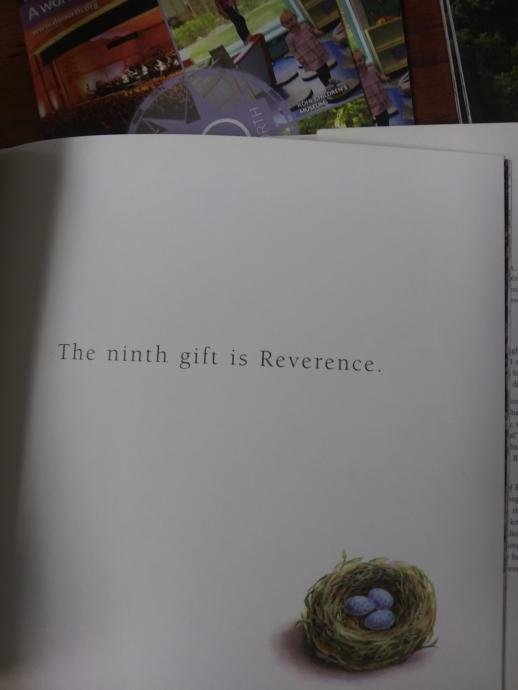 A summary of the twelve gifts of birth.
