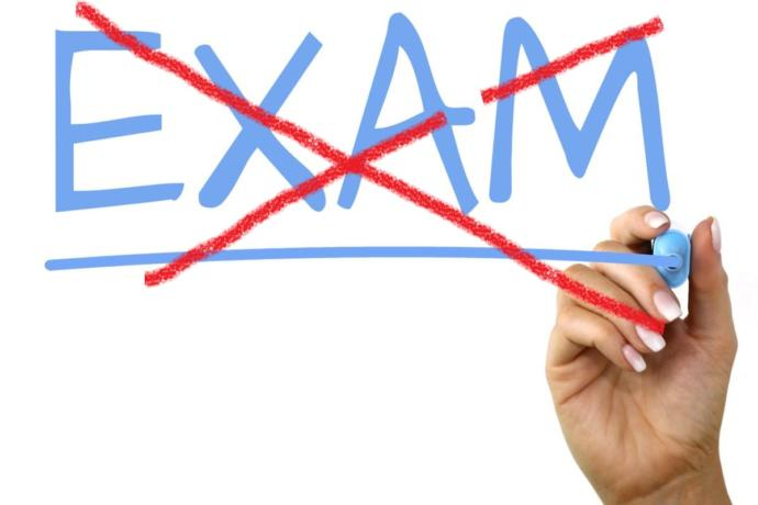 No more standardised tests or exams!