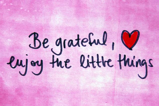 Be Grateful, and Spread the Love!