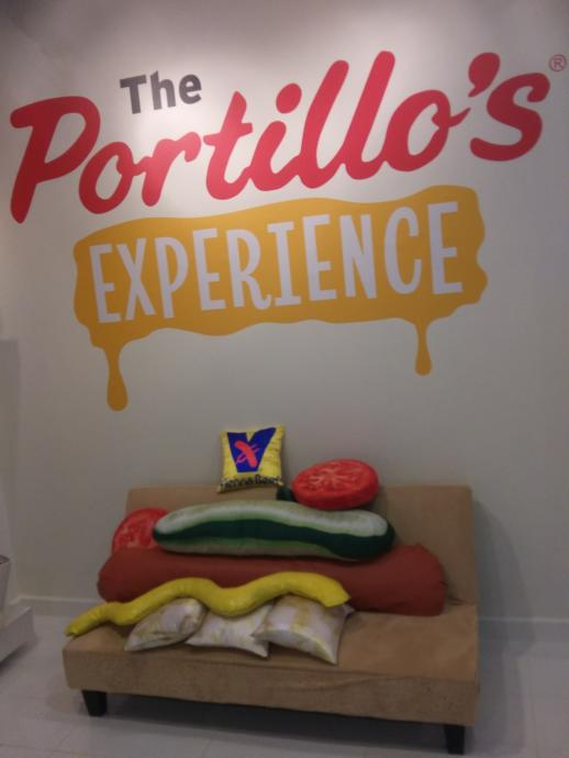 The Portillos Experience and some other mall stuff