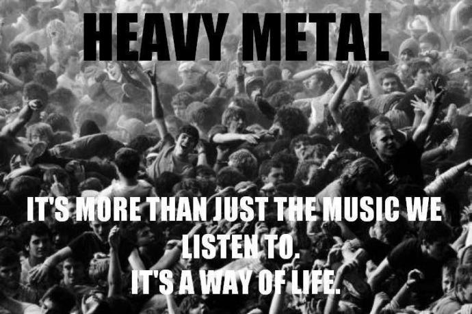 Why Metal Is Superior To Other Music Styles