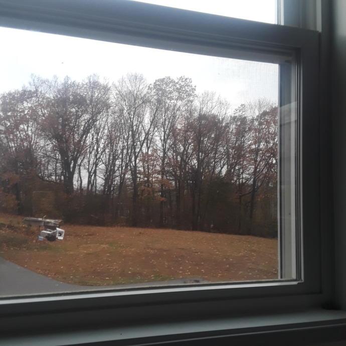 What the sky looks like outside my window