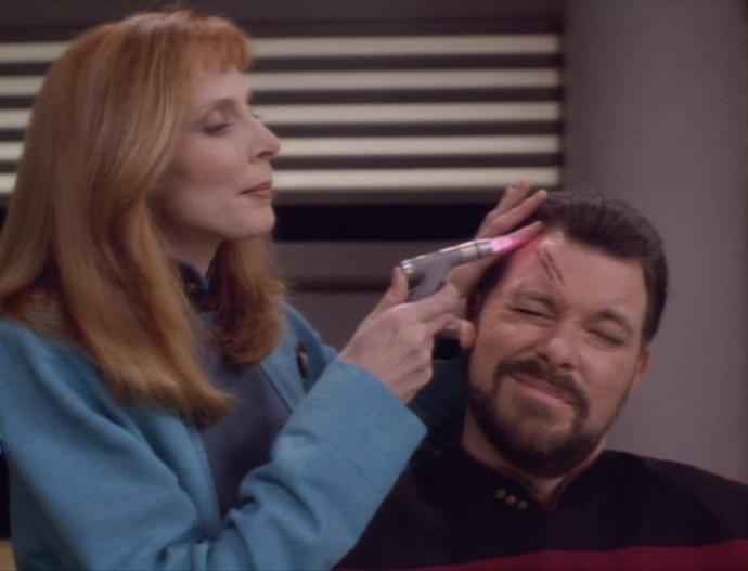 Star Trek instant healing Technology