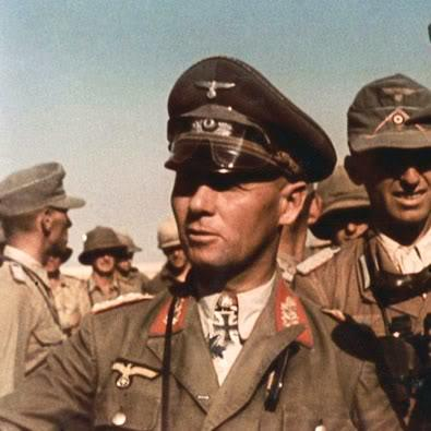 Erwin Rommel and his Afrika Korps