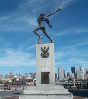 Katyn Forest Massacre memorial in New Jersey