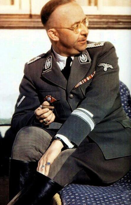 Heinrich Himmler was thought to be a pagan
