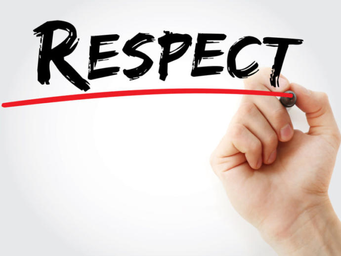 All everyone wants is to be respected for who they are