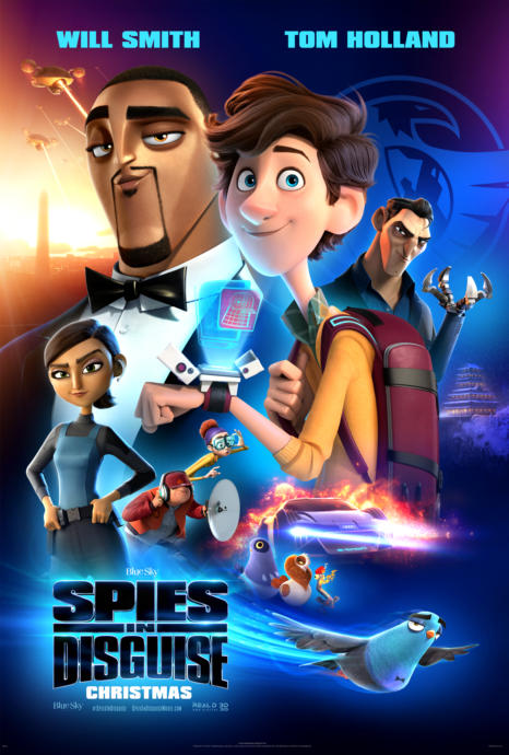 Spies In Disguise🤴🏾🕸️🐦