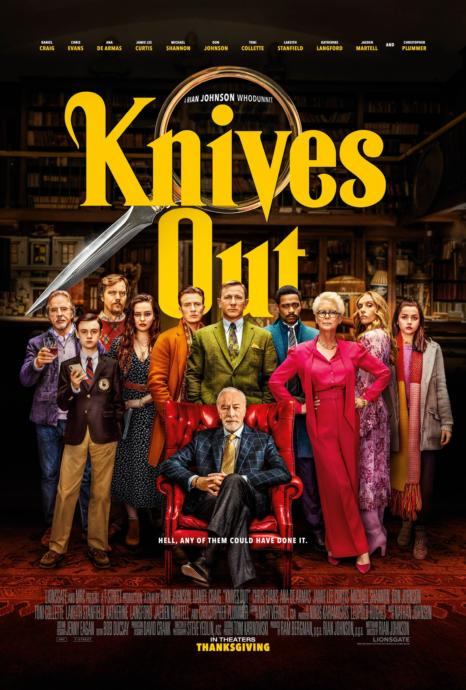 Knives Out🔪🔪🔪