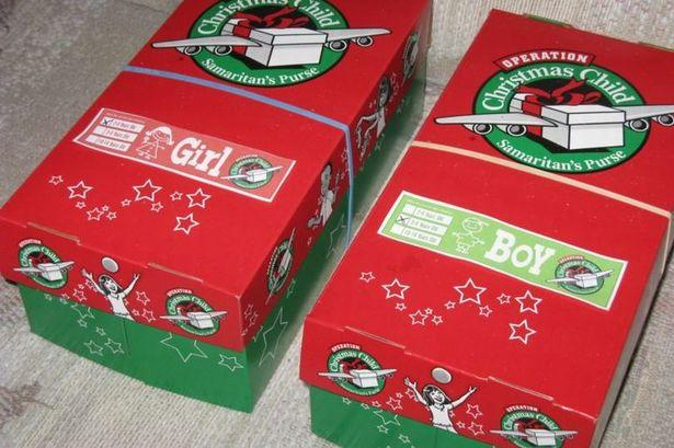Why you shouldnt participate in the Christmas Shoebox program.