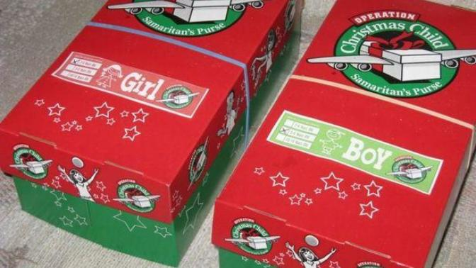 Why you shouldn't participate in the Christmas Shoebox program.