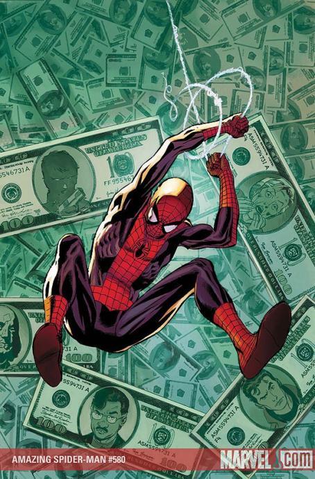 Spidey got the cash... Unlike me😂