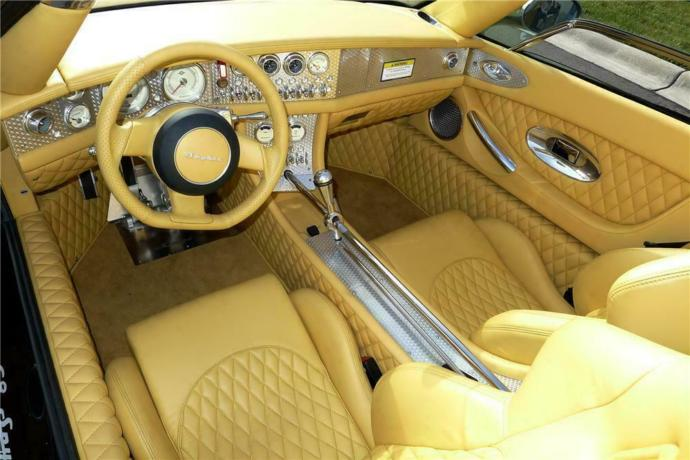 Interior of the The Spyker C8 SWB