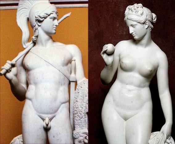 Nude Roman Statues